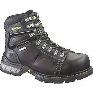 Cat Footwear Endure Waterproof Steel Toe Boot   Black