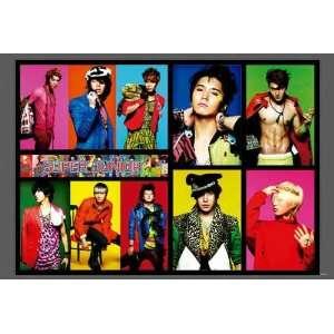 POSTER horiz 34 x 23.5 Siwon Kyuhyun Korean boy band SuJu Superjunior