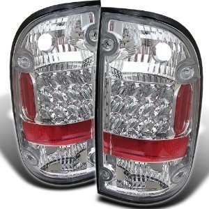 Toyota Tacoma 01 03 LED Altezza Tail Lights   Chrome