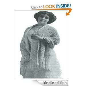 0241 PLYMOUTH SCARF VINTAGE CROCHET PATTERN (Single Patterns