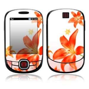 Flying Flowers Design Protective Skin Decal Sticker for