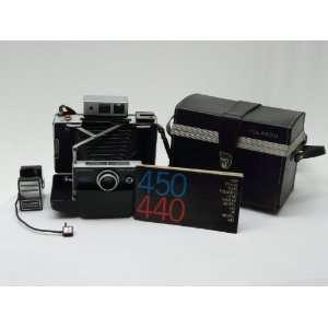 Polaroid camera Automatic Land 450 with Case Manual w