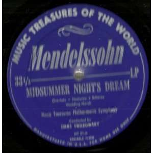 Mendelssohn Midsummer Nights Dream Hans Swarowsky, Music