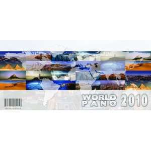 WORLDPANO   World Panoramic Calendar 2010 (Multilanguage