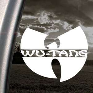 Wu Tang Clan Decal Rap Rock Band Truck Window Sticker