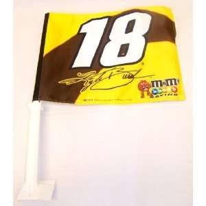 Kyle Busch #18 Car Flag: Sports & Outdoors