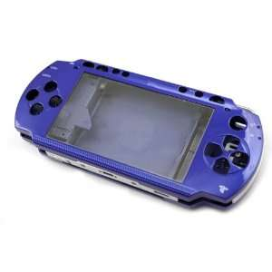 Blue Front and Back Faceplate Cover Case for Psp1000