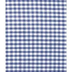 Navy Gingham Fabric 1/8 Fabric: Arts, Crafts & Sewing