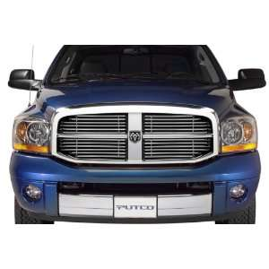 Putco 31100 Virtual Horizontal Tubular Grille Insert   Stainless Steel