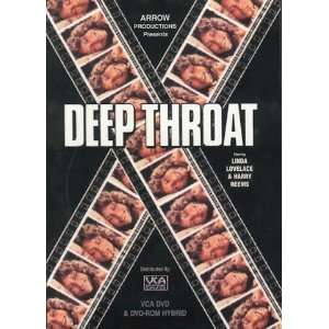 Deep Throat DVD (starring Linda Lovelace, Harry Reems