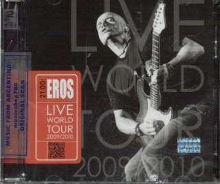EROS RAMAZZOTTI, 21.00 EROS LIVE WORLD TOUR 2009 / 2010. FACTORY