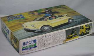 LUPIN III THE THIRD 1/24 Cagiostoro Castle Model Kit