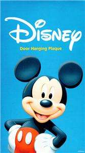 Disney Mickey Mouse & Friends DOOR HANGING PLAQUE $9.99