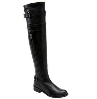 STEVE MADDEN SABRA WOMENS BLACK OVER KNEE BOOT 6.5 $259