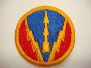 US Army AIR DEFENSE ARTILLERY SCHOOL Patch