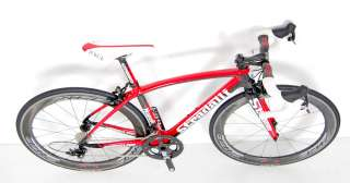 2012 STRADALLI NAPOLI SRAM RED BLACK ZIPP 404 FIRECREST CARBON ROAD