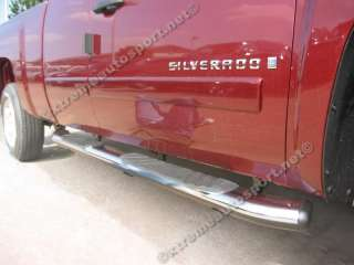 Chevy Silverado Ext Cab Running Boards 5 Oval 07 up