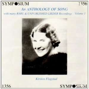 An Anthology of Song, Vol. 1: Anton van Rooy, Anton