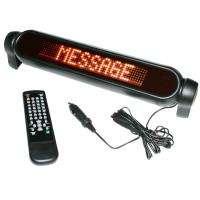 Digital Car 12V LED light Message Moving Scrolling Sign Display