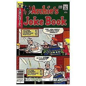 Archies Joke Book (1953 series) #233 Archie Comics Books