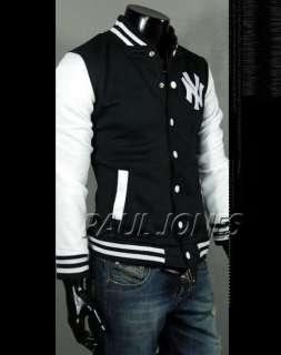 PJ New York Yankees Logo Baseball/Varsity Jackets Coats For Men