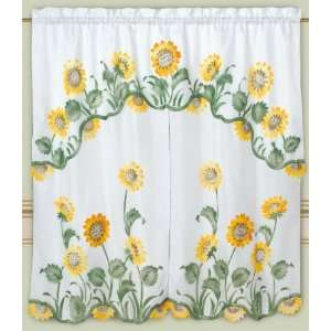 Pottery Barn Cafe Curtains Sunflower Window Shades