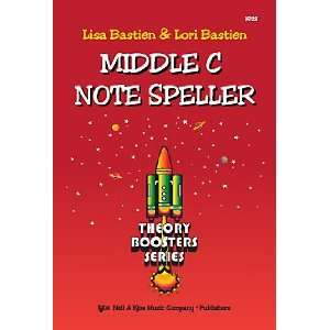 Bastien Theory Boosters Middle C Note Speller (KP22) Lisa Bastien