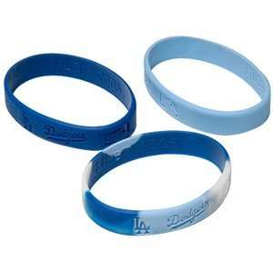 Major League Baseball Team Youth Wrist Band Sets   Los Angeles Dodgers
