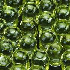 5mm 6pc Set Round CABOCHON Cut Natural Green Peridot