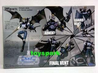 BANDAI S.H.Figuarts Kamen Masked Rider KNIGHT & Darkwing shf figure
