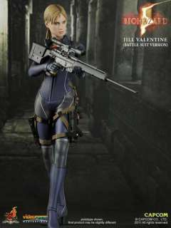 HOTTOYS HOT TOYS BIOHAZARD RESIDENT EVIL JILL Valentine Battle FIGURE