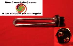 Wind Generator 12 volt 600 watt DC Water Heater Element
