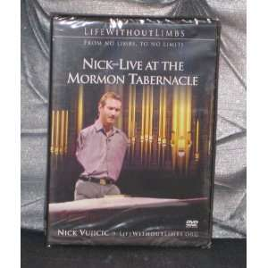 Nick Vujicic   Live At the Mormon Tabernacle From No Limbs
