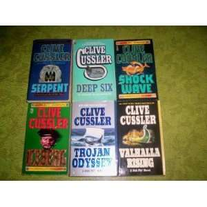 Odyssey   Deep Six   Shock Wave   Iceberg) Clive Cussler Books