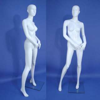 On Sales Brand New G10 White Abstract Full Size Female Mannequin