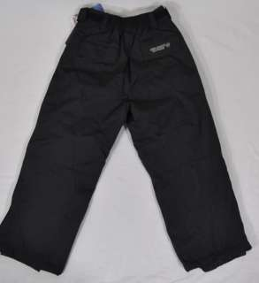 NEW Free Country FCXtreme Youth Water Resistant Ski Snow Pants Black