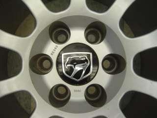 99 02 Dodge Viper GTS ACR OEM 18x13 Rear Wheel & Tire Silver