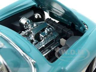 Brand new 124 scale diecast car model of 1957 Chevrolet Corvette die