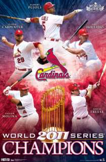 St. Louis Cardinals 2011 WORLD SERIES CHAMPIONS Commemorative Poster