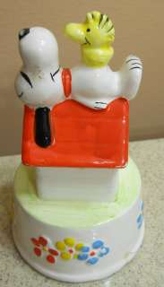 1970s Peanuts Snoopy & Woodstock Eloise Music Box
