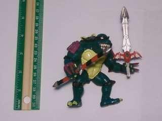 TMNT Teenage Mutant Ninja Turtles Slash Figure w/ Weapons !!