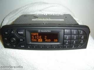 01 02 03 04 MERCEDES BENZ Radio Tape C230 C240 C320 C32 OEM C Class