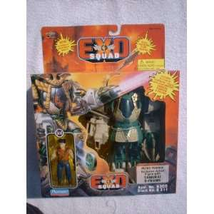 SQUAD Peter Tanaka Exclusive Action Figure with Samurai E Frame (1995