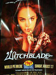 Witchblade TV Series Promo Poster/Yancy Butler/Top Cow
