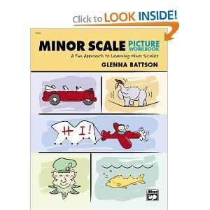 Minor Scale Picture Workbook (0038081191584): Glenna