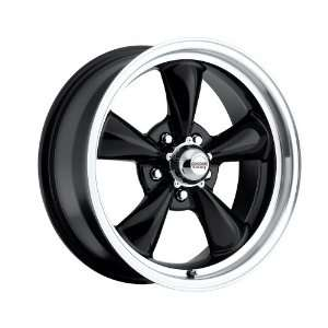 100 B Classic Series Black aluminum wheels rims licensed from American