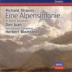 Strauss Don Juan, Eine Alpensinfonie Blomstedt, San