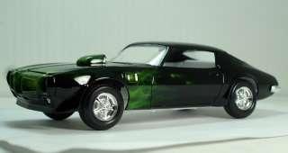 1970 Pontiac Firebird Trans Am Green True fire hardbody slot car