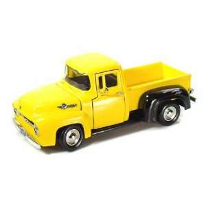 1956 Ford F 100 Truck American Graffiti 1/24 Yellow Toys & Games