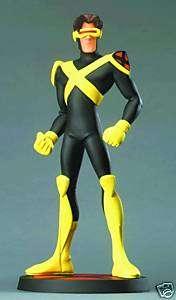 Cyclops Maquette X Men Evolution Hard Hero Vandable New
